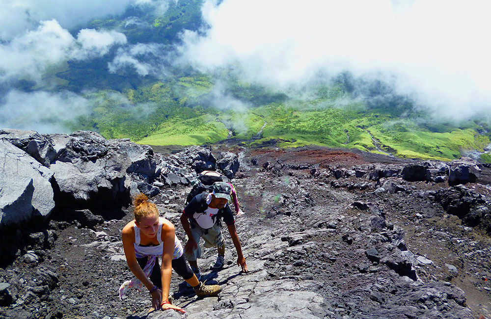 Beautiful places to travel- Hiking Mount Mayon Volcano